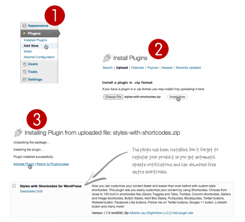 02-styles-with-shortcodes-install-plugin
