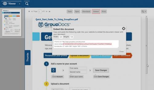 GroupDocs PDF Viewer Plugin for WordPress