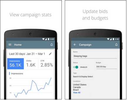 AdWords App